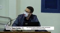 Ritmo da vacinação contra a covid em Ponte Nova é criticada pelo vereador Wagner Gomides